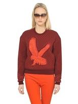 Stella McCartney Wool/Cotton Quilted Jersey Sweatshirt
