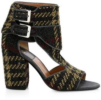 Laurence Dacade Rush Tartan Side Buckle Sandals
