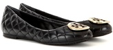 Tory Burch Quinn Quilted Leather Ballerinas