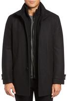 Andrew Marc Strafford Wool Blend Coat