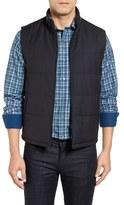 Bugatchi Men's Reversible Wool Vest