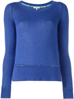 Etro boat neck jumper - women - Cotton/Cashmere - 38