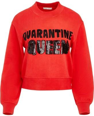 Alice + Olivia Sequin Embellished Sweatshirt