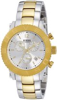 Versus By Versace Men's SOH010015 Madison Analog Display Quartz Two Tone Watch