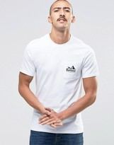Barbour T-shirt With All Weather Brand Pocket In White
