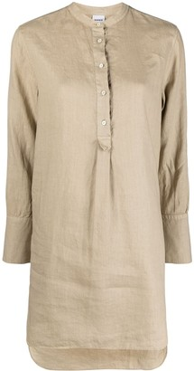 Aspesi Long Linen Shirt