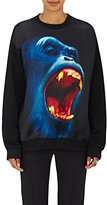 Christopher Kane Women's Monkey-Print Sweatshirt-Black