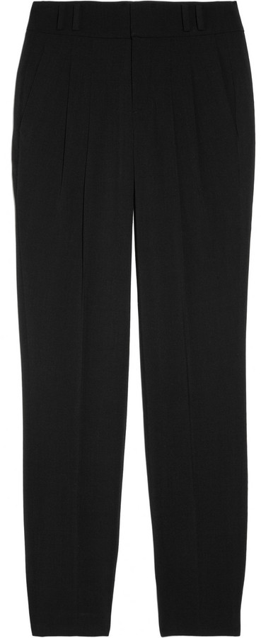 Helmut Lang Angora-blend tapered pants