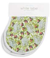 Aden And Anais Aden and Anais White Label Infant Girls' Paradise Code Burpy Bibs, 2 Pack