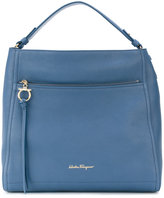 Salvatore Ferragamo Large Gancio Hobo tote bag - women - Calf Leather - One Size