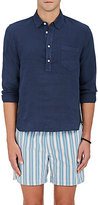 Solid & Striped Men's Linen Popover Shirt