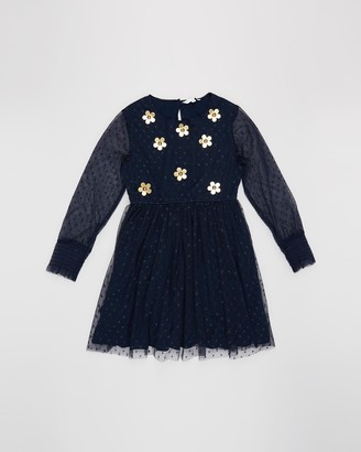 Little Marc Jacobs Floral Embroidered Party Dress - Kids-Teens