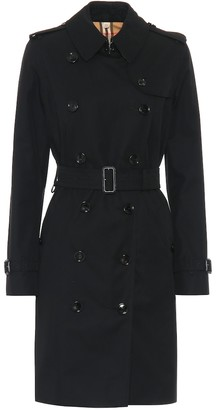 Burberry The Kensington cotton trench coat