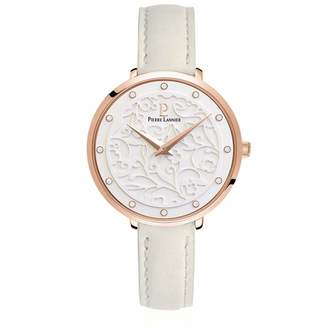 Pierre Lannier Womens Analogue Quartz Watch with Leather Strap 041K600