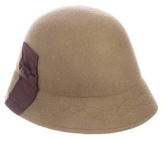 Albertus Swanepoel Wool Bow Hat