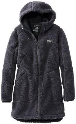 L.L. Bean Women's Mountain Pile Fleece Coat