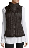 Calvin Klein Collection Quilted Zippered Vest