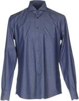 Del Siena Denim shirts - Item 42597603