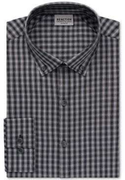 Kenneth Cole Reaction Men's Slim-Fit All-Day Flex Performance Dress Shirt