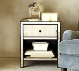 Pottery Barn Marnie Mirrored Bedside Table