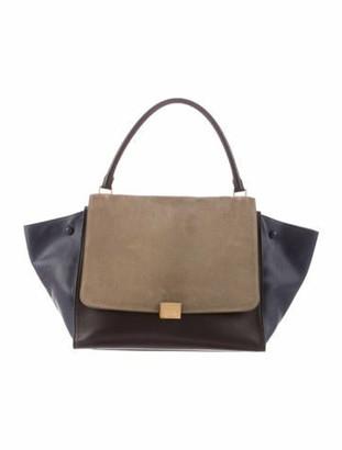 Celine Large Trapeze Bag Black Large Trapeze Bag
