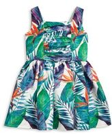 Halabaloo Toddler's & Little Girl's Jungle-Print Dress