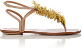 "Aquazzura WOMEN'S ""WILD THING"" T-STRAP SANDALS"