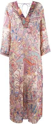 Etro Paisley Maxi Dress