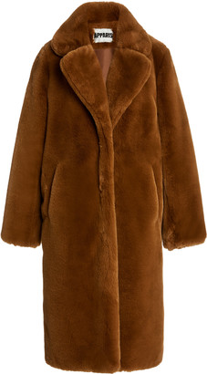 Apparis Siena Faux-Fur Oversized Coat