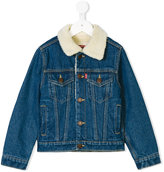 Levi's Kids denim jacket with graphic back print