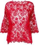 Ermanno Scervino floral lace blouse