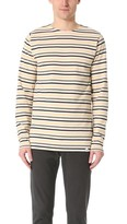Norse Projects Godtfred Multi Stripe Long Sleeve Tee
