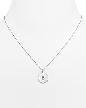 kate spade new york One In a Million Initial Pendant Necklace, 18