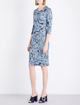Erdem Paisley Vine-printed stretch-jersey dress