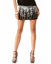 Raining Sequin Mini Skirt