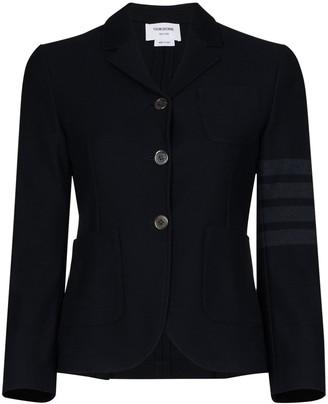 Thom Browne 4-Bar cropped blazer