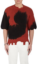 Ovadia & Sons Men's Distressed Tie-Dyed Cotton Sweater