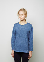 Blue Blue Japan Indigo-Dyed Cotton Pullover