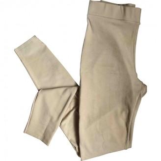 Wolford Ecru Trousers for Women