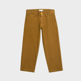 Paul Smith Boys' 7+ Years Tan Stretch-Cotton Chinos