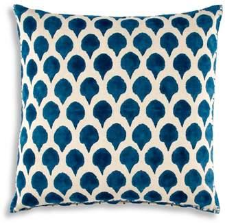 "John Robshaw Nadole Peacock Decorative Pillow, 20"" x 20"""