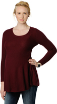 A Pea in the Pod Peplum Maternity Sweater