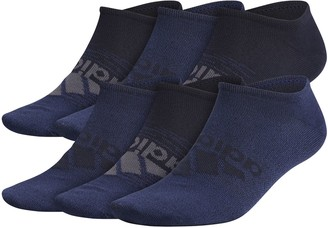 adidas Men's Superlite Badge Of Sport 6-pack No-Show Socks