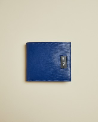 Ted Baker AYTEAM Woodgrain leather bifold wallet