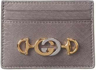 Gucci Zumi Leather Card Holder