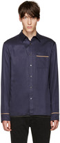3.1 Phillip Lim Navy Pyjama Shirt