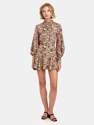 Finders Keepers Romy Long Sleeve Mini Dress