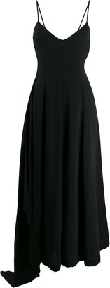 Ami Draped Side-Panel Dress