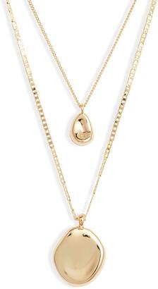 Jenny Bird Mithras Varuna Double Strand Necklace