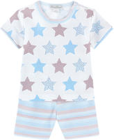 Kissy Kissy Pima cotton T-shirt and shorts - Star Lite